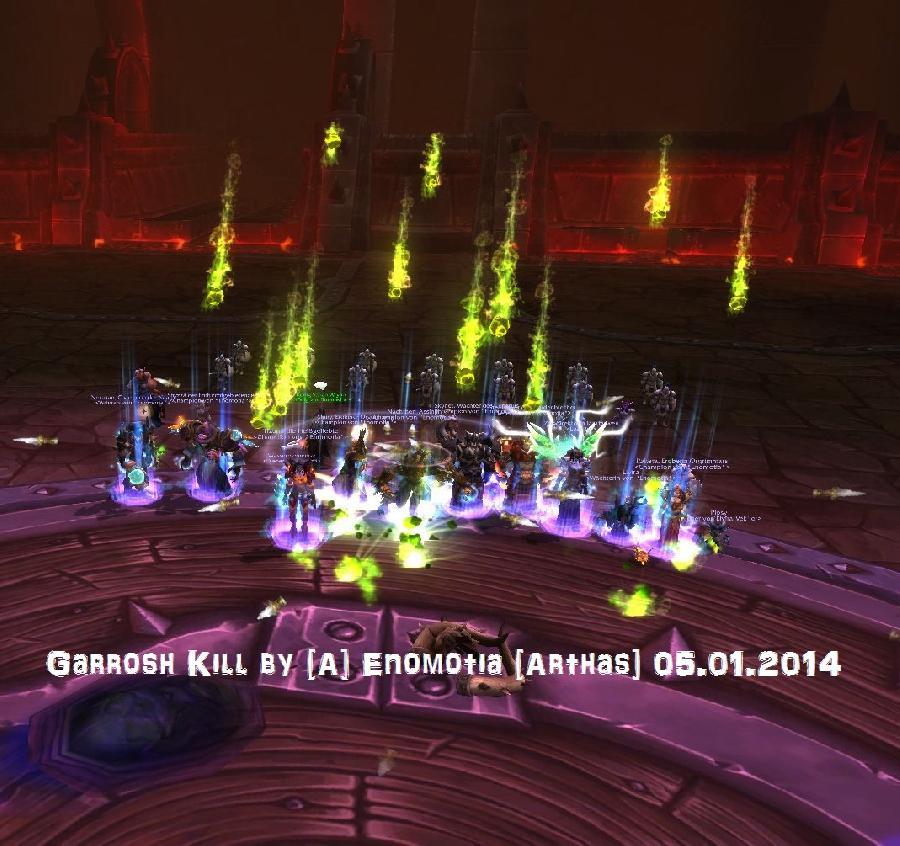 Garrosh Kill